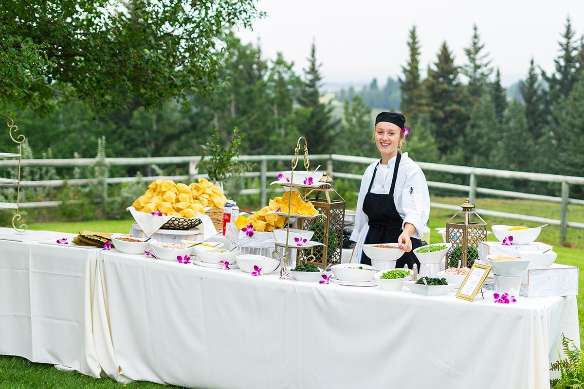 The Secret to the Perfect Wedding Catering Set-up