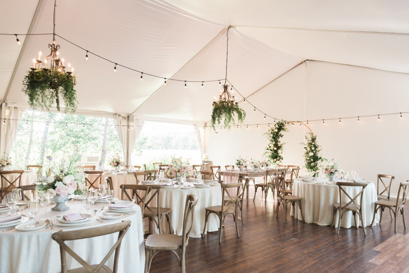 Save $1500 on a Meadow Muse Pavilion dreamy wedding